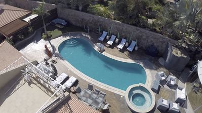 Photo for Magnificent 5 * Villa with large pool and football field up to 14 adults