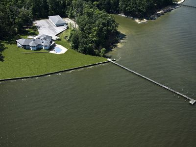Photo for Waterfront Home near Annapolis for Family Vacation Or Special Event