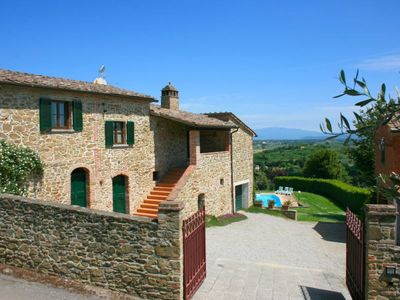 Photo for Old independent farmhouse  with private pool and garden, free internet connection. Quiet position. M