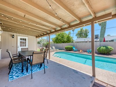 Photo for Scottsdale Home! Pool, Darts, Fire Pit! Sleeps 16!
