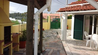 Photo for 3 Bedroom House with garden & enclosed patio, Fantastic views of Sesimbra Castle