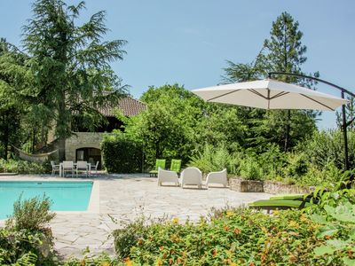Photo for Gite with private swimming pool in wonderful, peaceful setting