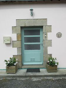Front Door of Les Anglais