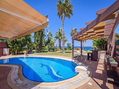 Photo for Exclusive 5 bedroom beach front property, located in Kapparis, Protaras