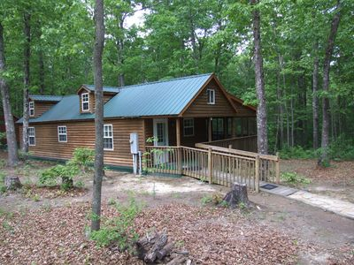 Photo for SS-Secluded Cabin in Woods-Cumberland Plateau Retreat(Three + nights $100 off)