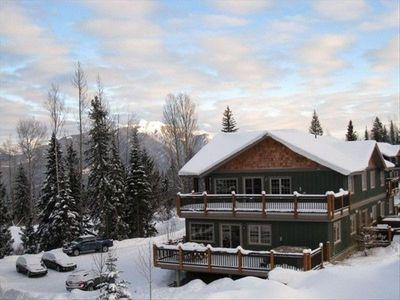 Photo for Ski in Ski Out Condo Directly on Kicking Horse Mountain Resort