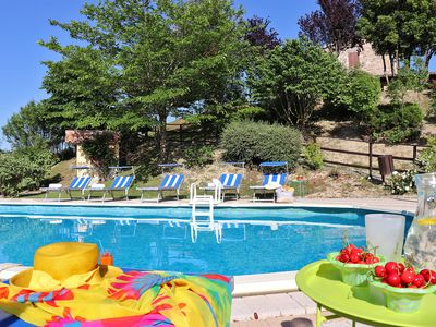 Photo for SPECIAL PRICE  Private villa with pool, pet-friendly, Le Marche