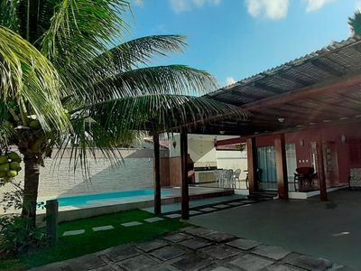 Photo for House with 3 bedrooms, pool and barbecue in the Condominium Outeiro da Glória