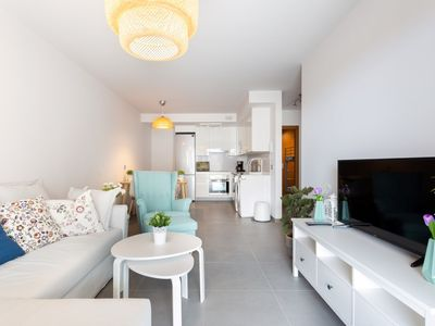 Photo for La Tejita Luxury Apartment with free parking ideal for couples with children