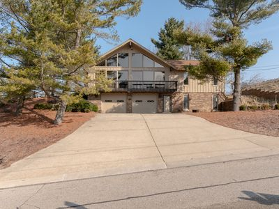 Photo for MABS Hill House: 3 BR Cottage w/ AMAZING Lake MI and Pier Views! (Sleeps 8)