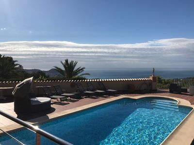 Photo for Private Villa, Heated Pool & AC(optional extras)Sleeps 10. Stunning Views.