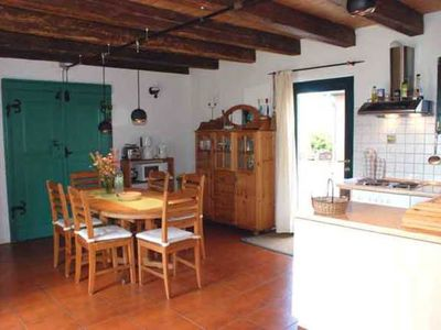 Photo for House Kranich with fireplace and stunning views! - Rügen cottages with fireplaces ***