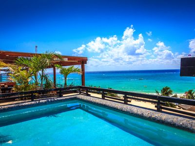 Photo for Ocean View Penthouse in Playa del Carmen Aldea Thai by BRIC Vacation Rentals
