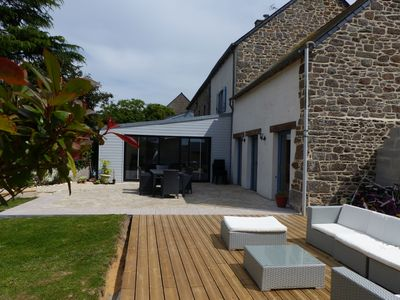 Photo for renovated house edge of Rance - near Saint-Malo calm rest comfort guaranteed (s)