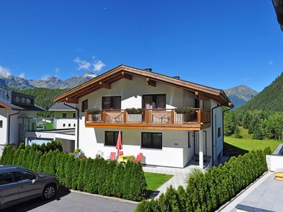 Photo for Getting up to go down - holidays on the sunny balcony of the Ötztal