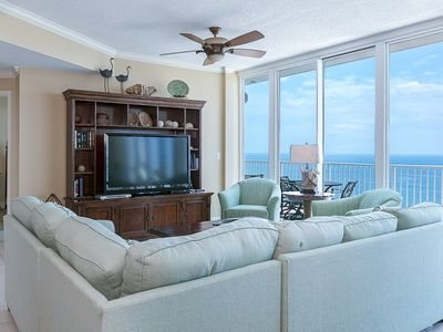 Photo for HAVE A BALL with Kaiser in Lighthouse Penthouse #3: 4 BR/4 BA Condo in Gulf Shores Sleeps 10