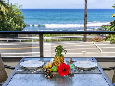 Photo for ***Rates Reduced *** Spacious two Bedroom, two Bath Ocean View condo, close to town