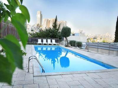Photo for Breathtaking Vila with pool in Jerusalem Center