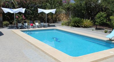 Photo for Detached villa with pool. Ideal for 2 families with kids or winter stays