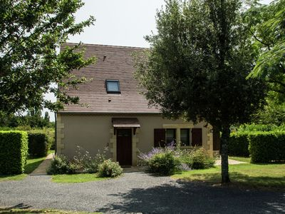 Photo for Detached holiday home on holiday park with two swimming pools in Dordogne