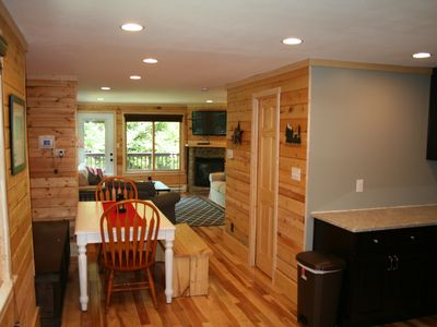 Photo for Completely Renovated Treetop Townhome Next To Village and Slopes.