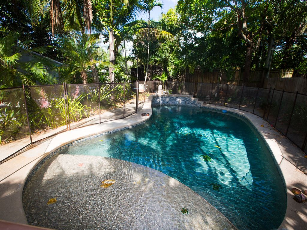 Tropical Pool Home In Fun Beach Side Town Vrbo