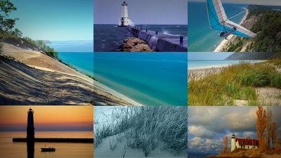 Enjoy sand dunes, protected beaches, charter fishing, lighthouses, hiking & more