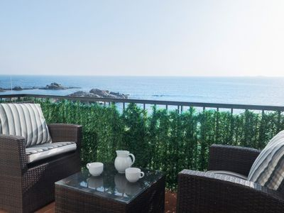 Photo for 2 bedroom Apartment, sleeps 4 in Calella de Palafrugell with Air Con and WiFi