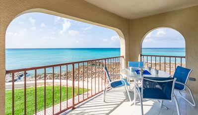 Photo for Ocean Front Condo -Watch the Sunset over the Caribbean! by CaymanVacation