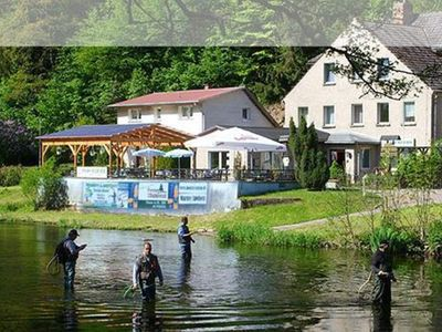 Photo for Double Room with French Bed - Room 4 - Pension & Restaurant Waldesruh