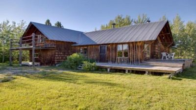 Photo for Beautiful Cabin With Teton Views in Tetonia, ID