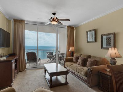 Photo for 0806 - 1B/2 Bath With Bonus Room. Master Bedroom & Living Room Face the Gulf!