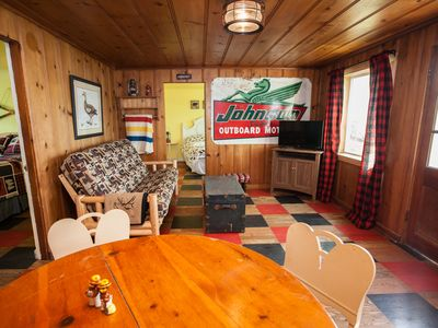 """Photo for Waterfront on the Lake """"Buffalo Check Cabin"""" at Oroville Beach Club"""