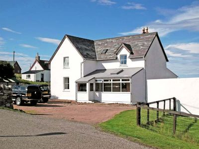 Photo for TRANSVAAL HOUSE, pet friendly, with open fire in Durness, Ref 2310