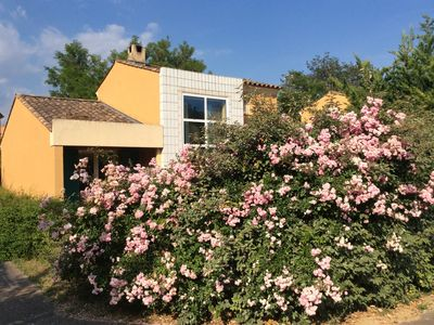 Photo for House in the quiet charm of the green sun pool Golf between Luberon and Verdon