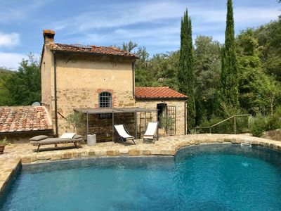 Photo for Villa Chianti Mulino del Cerchiaio, private swimming pool and free Wi-Fi