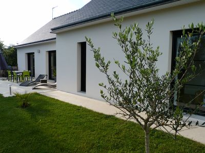 Photo for Very nice house, between countryside and sea, close to the pink granite coast