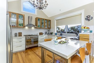 Gourmet kitchen to 'cook up a storm' if so desired.