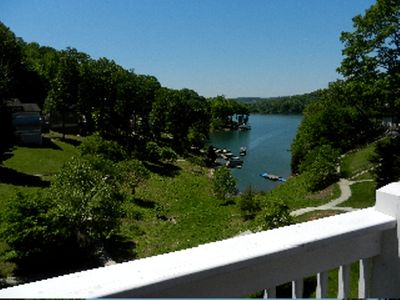 Photo for Beautiful Lake Front Contemporary Home! Deerfield Resort.