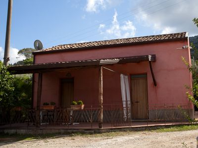 Photo for Sicily farmholidays:CASA DELLA PALMA,farmhouse with pool few minutes to the sea