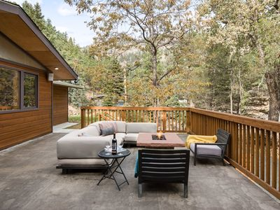 Photo for Upper Level of Modern Mountain Home - Dog Friendly