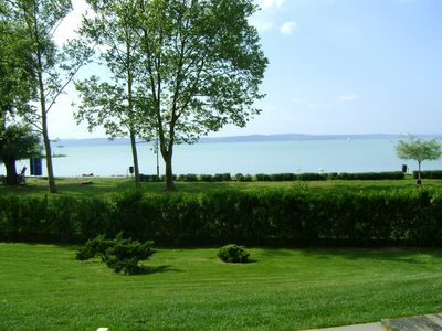 Photo for Apartment directly at lake in groundfloor with air-conditioner with spa & WIFI