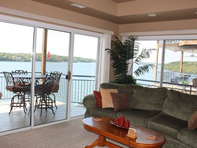 Photo for Palisades Point- Lakefront Escape!  High-end Condo with Million Dollar View!!