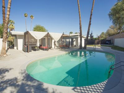 Photo for Newly Furnished Private Pool Home near El Paseo, Town Center, restaurants/bars,
