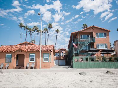 Photo for Oceanfront Condo, Just steps From The Ocean! NO EXTRA CLEANING FEES!