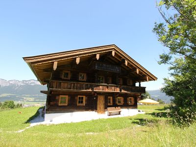 Photo for This unique chalet is located directly on the slope in the town of St. Johann