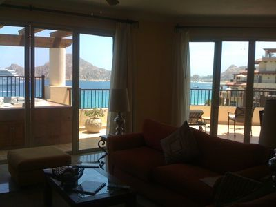 Photo for Reduced price!!Ocean Front, 5th floor, Penthouse Villa Del Arco Cabo San Lucas,