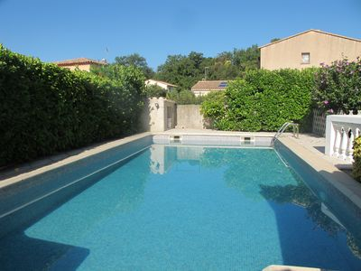 Photo for Friendly house with swimming pool (and all you need) near the golf