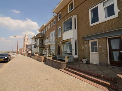 Photo for Authentic jutters house on the boulevard of Katwijk with sea view