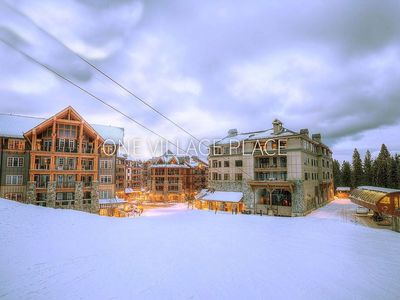 Photo for Skiers?  This is for you!  Luxurious 3 Bedroom Villa  VIP access-only lift line!